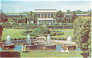 Longwood Gardens Kennett Square PA Postcard p0552 (Image1)