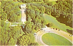 Abraham Lincoln Birthplace Postcard (Image1)