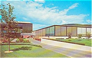 Corning Glass Center NY Postcard p0632 (Image1)