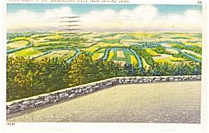 Shenandoah River VA Postcard p0637 (Image1)