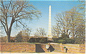 Grave of Mary Washington Postcard (Image1)