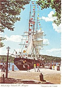 Charles W Morgan Postcard p0657 (Image1)