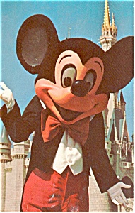 Mickey Mouse Walt Disney World FL Postcard (Image1)