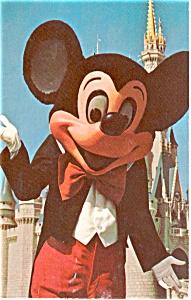 Mickey Mouse Walt Disney World FL Postcard p0658 (Image1)