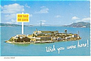 Alcatraz Island CA Postcard (Image1)