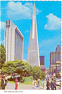 Portsmouth Square San Francisco CA Postcard p0725 (Image1)