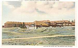 Grand Canyon Hotel Yellowstone National Park WY Postcard p0734 (Image1)