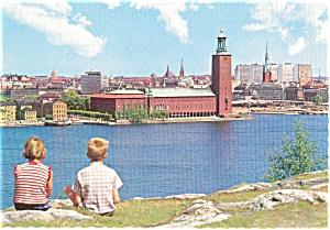 Stockholm City Hall Postcard (Image1)