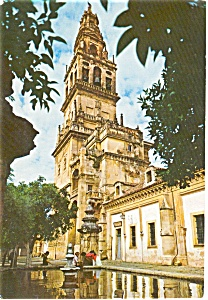 Cordoba Spain Cathedral Postcard p0778 (Image1)