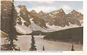 Moraine Lake Banff National Park Postcard (Image1)