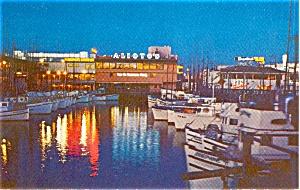 Fisherman s Wharf San Francisco CA Postcard p0801 (Image1)