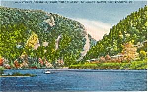 Child s Arbor Delaware Water Gap PA Postcard p0826 (Image1)