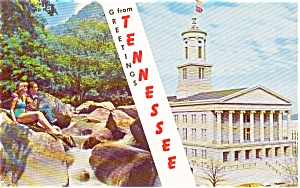 Greetings From Tennessee Postcard p0828 (Image1)