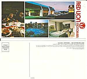 Medford OR Red Lion Motor Inn Postcard lp0829 (Image1)