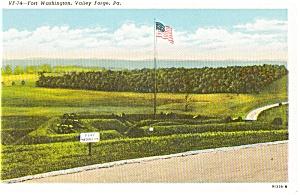 Ft Washington  Valley Forge PA Postcard p0835 (Image1)