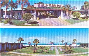 Gulf Ranch Apts Sarasota FL Postcard p0910 (Image1)