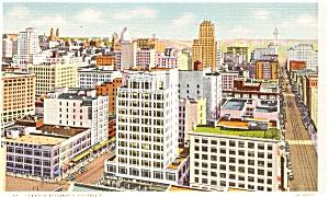 Seattle WA Business District Postcard p0939 (Image1)