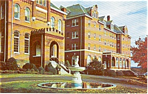 Virginia Intermont College Va Postcard P0955