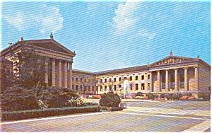 Philadelphia PA Museum of Art Postcard p0996 (Image1)