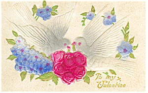 Valentines  Postcard Germany Divided Back (Image1)