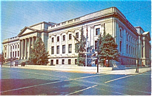 Ben Franklin Institute Philadelphia PA Postcard p1000 (Image1)