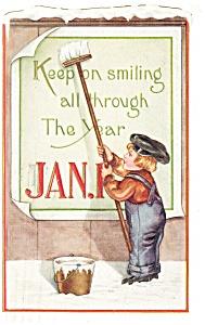 New Years Postcard  p10042 1919 (Image1)