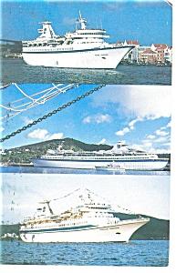 Royal Caribbean Cruise Ships Postcard p10051 (Image1)