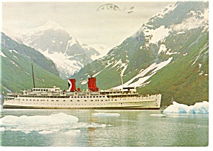C P Rail Ship Princess Patricia Postcard p10059 (Image1)