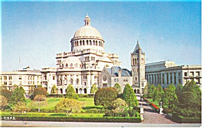 Boston  MA First Church of Christ Scientist Postcard p10075 (Image1)