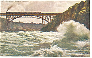 Niagara Falls, NY, The Whirlpool Rapids Postcard (Image1)