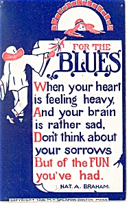 For The Blues Postcard 1911 (Image1)