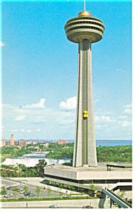 Skylon Tower Niagara Falls Ontario Canada Postcard p10151 (Image1)