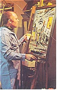 Morris Katz Artwork Painting The Cook Postcard p10153 (Image1)