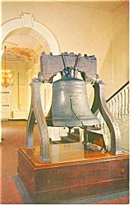 Liberty Bell Philadelphia PA Postcard p10195 (Image1)