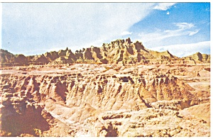 The Badlands of South Dakota Postcard (Image1)