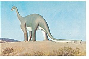Rapid City SD Dinosaur Park Postcard p10204 (Image1)