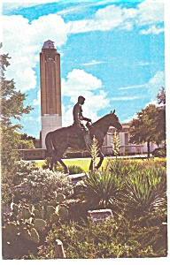 Great Will Rogers Coliseum Tower Fort Worth Postcard (Image1)