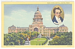 Austin TX State Capitol Postcard p10213 (Image1)