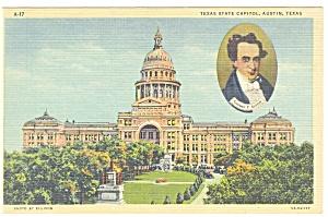Austin TX Texas State Capitol Postcard p10236 (Image1)