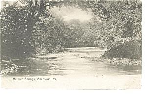 Allentown  PA Helfrich Springs Postcard p10309 (Image1)