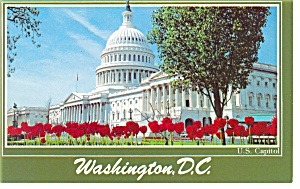 US Capitol Washington DC Postcard p10327 (Image1)