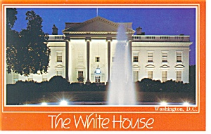White House, North Front, Washington DC Postcard (Image1)