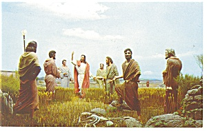 Silver Springs,FL Christ and The Pharisees Postcard (Image1)