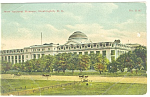 Washington DC, National Museum Postcard (Image1)