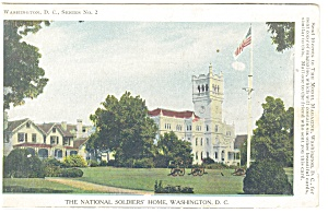 Washington DC, National Soldier's Home Postcard (Image1)