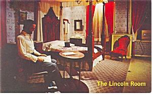 Gettysburg PA Lincoln Room  Postcard p10405 (Image1)