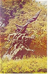 Gettysburg PA North Carolina Memorial Postcard p10407 (Image1)