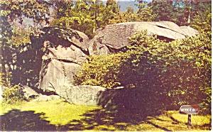 Gettysburg PA Devil s Den Postcard p10408 (Image1)
