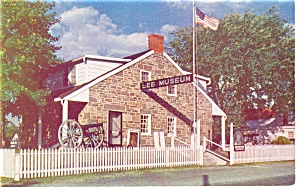 Gettysburg PA Lee s Headquarters Postcard p10409 (Image1)