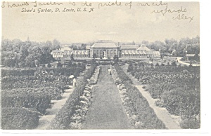 St Louis, MO, Shaw's Garden Postcard 1906 (Image1)